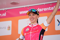 Stage winner Kasia Niewiadoma (Rabo Liv) at the 123 km Stage 3 of the Boels Ladies Tour 2016 on 1st September 2016 in Sittard Geleen, Netherlands. (Photo by Sean Robinson/Velofocus).