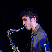 Saxophonist Eric Klaxton performs in Jazz Night 2013 at The Loft in Portsmouth, NH