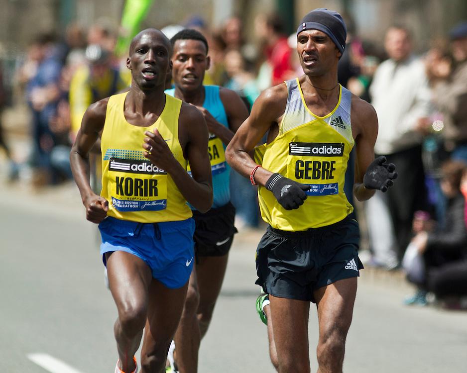 2013 Boston Marathon: Gebre Gebremariam