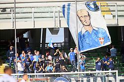 """Foto /Filippo Rubin<br /> 28/10/2017 Cesena (Italia)<br /> Sport Calcio<br /> Cesena vs Novara - Campionato di calcio Serie B ConTe.it 2017/2018 - Stadio """"Dino Manuzzi""""<br /> Nella foto: I TIFOSI DI NOVARA<br /> <br /> Photo /Filippo Rubin<br /> October 28, 2017 Cesena (Italy)<br /> Sport Soccer<br /> Cesena vs Novara - Italian Football Championship League B ConTe.it 2017/2018 - """"Dino Manuzzi"""" Stadium <br /> In the pic: NOVARA SUPPORTERS"""