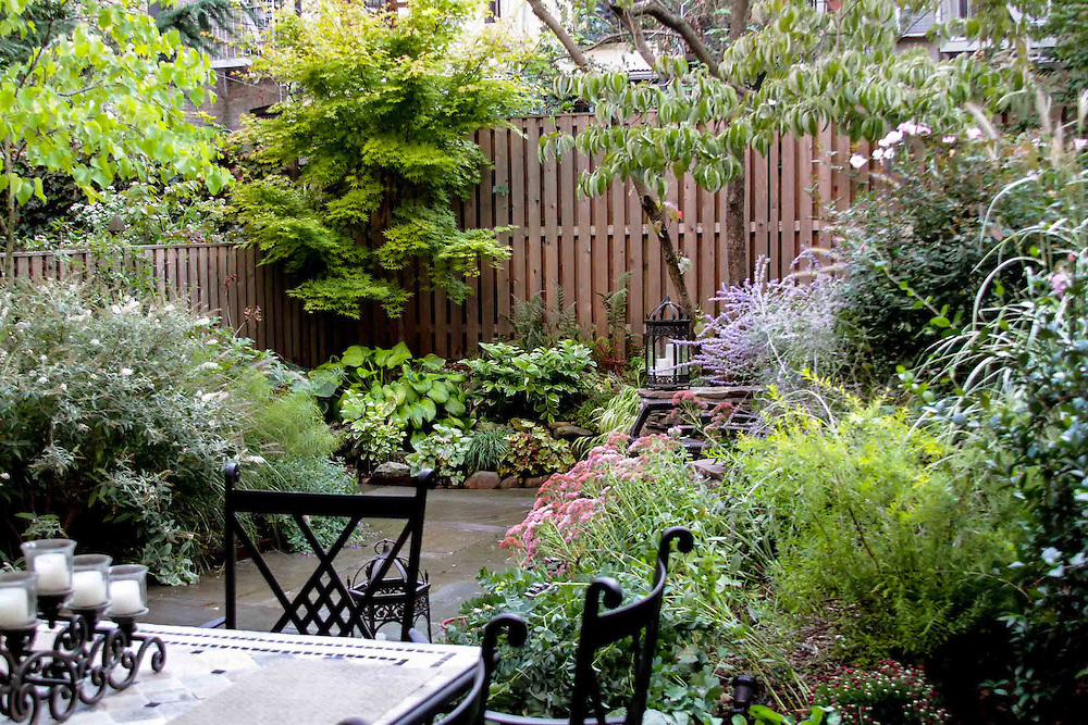 Brooklyn english garden outside space nyc landscape How to landscape
