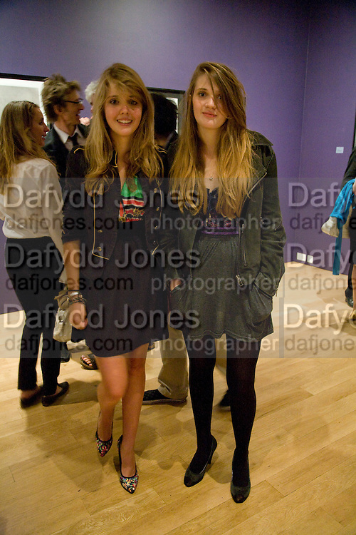 KATIE STUBBS AND ELLA CARR, Matthew Carr: New Work. Marlborough Gallery. Albermarle St. London. 24 June 2008.  *** Local Caption *** -DO NOT ARCHIVE-© Copyright Photograph by Dafydd Jones. 248 Clapham Rd. London SW9 0PZ. Tel 0207 820 0771. www.dafjones.com.