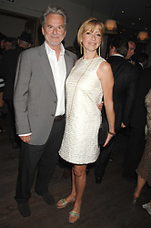 TREVOR EVE and SHARON MAUGHAN at a party to celebrate the launch of the Boodles Wonderland jewellery collection held at the Haymarket Hotel, 1 Suffolk Place, London on 9th June 2008.<br /><br />NON EXCLUSIVE - WORLD RIGHTS