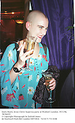 Doris Marti, Jesus Christ Supersta party at Waldorf, London. 19/11/96 96766f25<br />