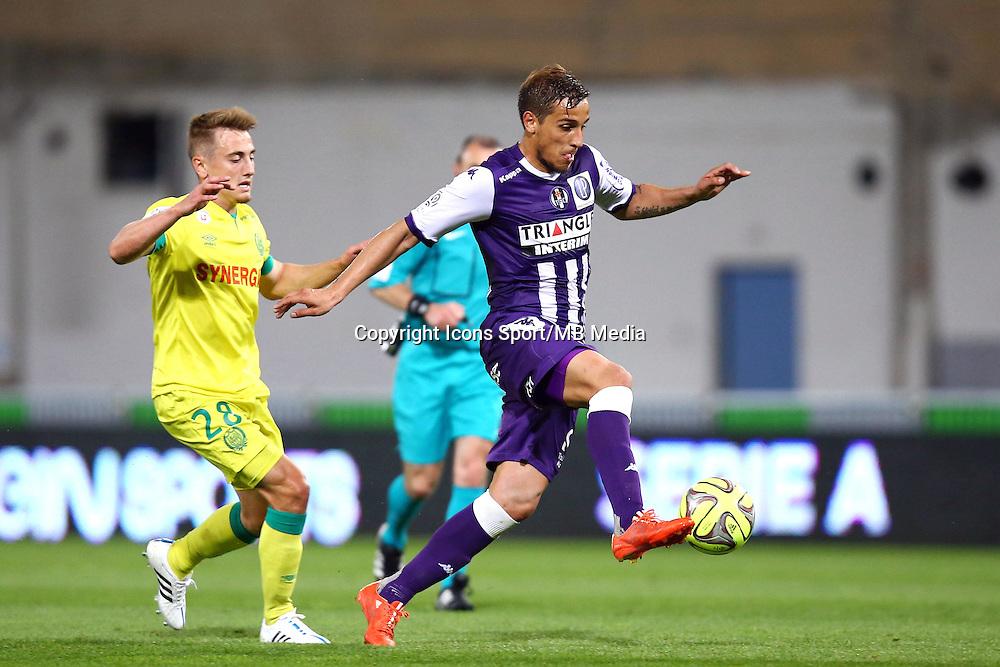 Oscar Trejo - 25.04.2015 - Toulouse / Nantes - 34eme journee de Ligue 1<br />Photo : Manuel Blondeau / Icon Sport