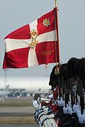 Staatsbezoek Denemarken - Dag 1. Aankomst van het Koninklijk gezelschap op vliegveld Kastrup<br /> <br /> State visit Denmark - Day 1. Arrival of the Royal Family at Kastrup airport
