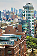 View of Cooper Union and Standard Hotel East Village from 70 East 10th Street, Penthouse