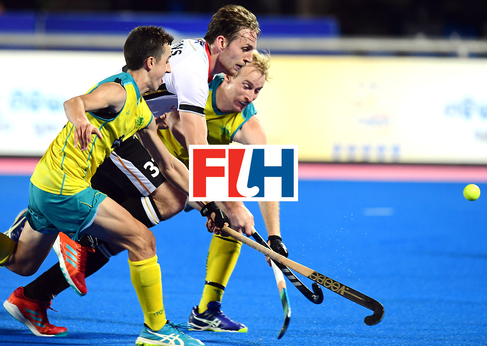 Odisha Men's Hockey World League Final Bhubaneswar 2017<br /> Match id:20<br /> Australia v Germany<br /> Foto: Niklas Bruns (Ger) <br /> COPYRIGHT WORLDSPORTPICS FRANK UIJLENBROEK