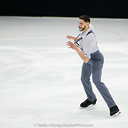 Ice Dance International performing WInd Dancer, Choreographed by Stephanee Grosscup, in Dover, NH, March 2020