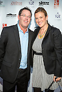 On the red carpet during opening night of the 25th Anniversary New Orleans Film Festival; Opening night film is 'Black and White' directed by Mike Binder