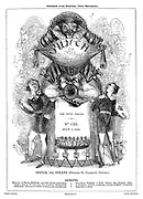 Punch or the London Charivari (front cover, 1 July 1843)