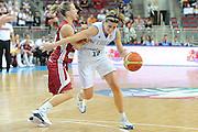 DESCRIZIONE : Riga Latvia Lettonia Eurobasket Women 2009 Semifinal 5th-8th Place Italia Lettonia Italy Latvia<br /> GIOCATORE : Raffaella Masciadri<br /> SQUADRA : Italia Italy<br /> EVENTO : Eurobasket Women 2009 Campionati Europei Donne 2009<br /> GARA : Italia Lettonia Italy Latvia<br /> DATA : 19/06/2009 <br /> CATEGORIA : penetrazione palleggio<br /> SPORT : Pallacanestro <br /> AUTORE : Agenzia Ciamillo-Castoria/M.Marchi<br /> Galleria : Eurobasket Women 2009 <br /> Fotonotizia : Riga Latvia Lettonia Eurobasket Women 2009 Semifinal 5th-8th Place Italia Lettonia Italy Latvia<br /> Predefinita :