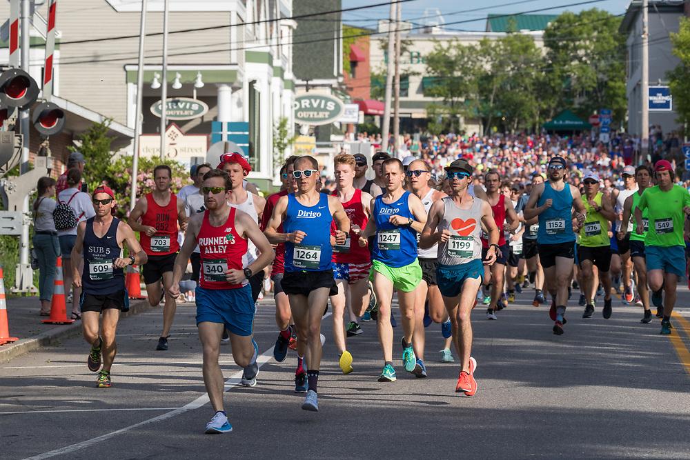 LL Bean 10K raod race