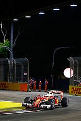 September 16, 2016 - Singapur, Singapur - Motorsports: FIA Formula One World Championship 2016, Grand Prix of Singapore, .#5 Sebastian Vettel (GER, Scuderia Ferrari) (Credit Image: © Hoch Zwei via ZUMA Wire)