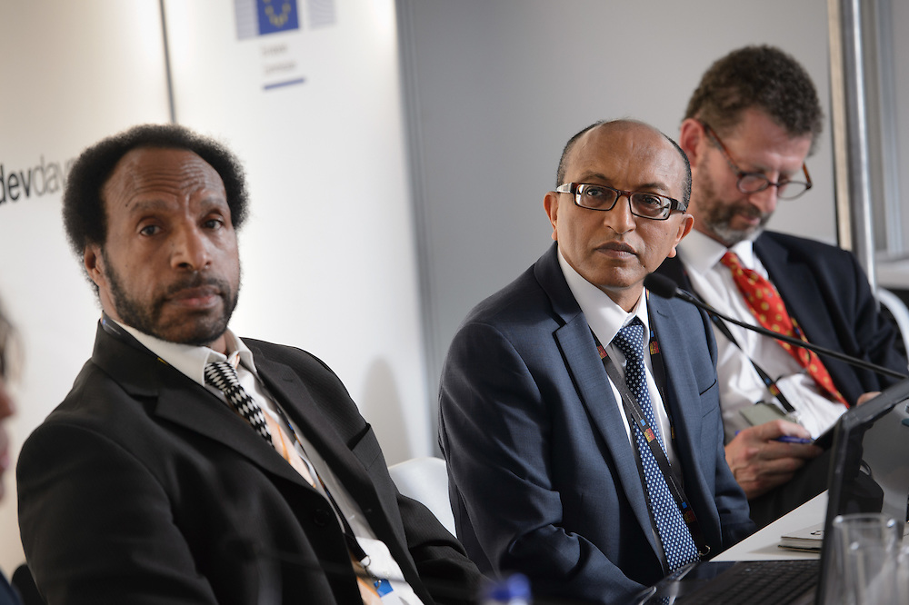 04 June 2015 - Belgium - Brussels - European Development Days - EDD - Climate - After Pam - Supporting the agri-food sectors in Vanuatu - Michael Hailu , Director , Technical Centre for Agricultural and Rural Cooperation (CTA) © European Union