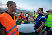 De Velox tijdens de tweede racedag in Battle Mountain. Het Human Power Team Delft en Amsterdam, dat bestaat uit studenten van de TU Delft en de VU Amsterdam, is in Amerika om tijdens de World Human Powered Speed Challenge in Nevada een poging te doen het wereldrecord snelfietsen voor vrouwen te verbreken met de VeloX 8, een gestroomlijnde ligfiets. Het record is met 121,81 km/h sinds 2010 in handen van de Francaise Barbara Buatois. De Canadees Todd Reichert is de snelste man met 144,17 km/h sinds 2016.<br /> <br /> With the VeloX 8, a special recumbent bike, the Human Power Team Delft and Amsterdam, consisting of students of the TU Delft and the VU Amsterdam, wants to set a new woman's world record cycling in September at the World Human Powered Speed Challenge in Nevada. The current speed record is 121,81 km/h, set in 2010 by Barbara Buatois. The fastest man is Todd Reichert with 144,17 km/h.