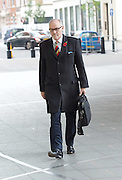 Andrew Marr Show <br /> arrivals <br /> 13th November 2016 <br /> BBC, Broadcasting House, London, Great Britain <br /> <br /> <br /> Rt Hon Crispin Blunt MP<br /> for Reigate <br /> <br /> Jeremy Corbyn MP<br /> Leader of the Labour Party <br /> <br /> <br /> <br /> <br /> <br /> Photograph by Elliott Franks <br /> Image licensed to Elliott Franks Photography Services
