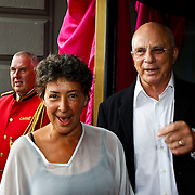 NLD/Amsterdam/20100801 - Inloop premiere musical Crazy Shopping, Heddy Lester en ....