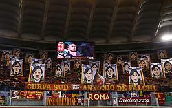February 3, 2019 - Rome, Italy - AS Roma v AC Milan - Serie A.Roma ultras remembering Antonio De Falchi, young Roma supporters killed in 1989 before a Serie A match near the San Siro Stadium of Milan. Olimpico Stadium in Rome, Italy on February 3, 2018. (Credit Image: © Matteo Ciambelli/NurPhoto via ZUMA Press)
