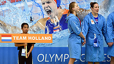 20160321 NED: World Olympic Qualification Tournament Water Polo Netherlands - France, Gouda
