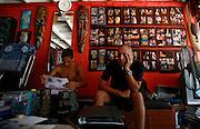 Thailandia , Phi Phi Island, waiting for a tatoo
