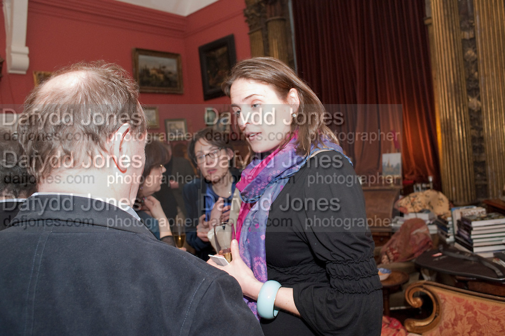 ANYA CAMPBELL, Party to celebrate the publication of Animal Magic by Andrew Barrow. Tite St. London. 28 February 2011.  -DO NOT ARCHIVE-© Copyright Photograph by Dafydd Jones. 248 Clapham Rd. London SW9 0PZ. Tel 0207 820 0771. www.dafjones.com.