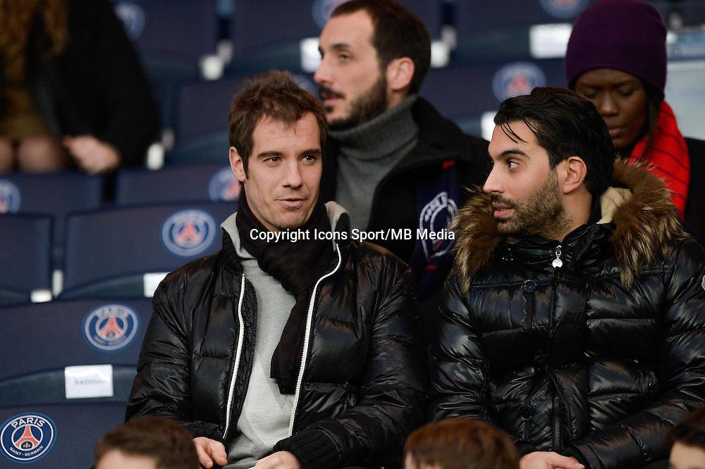 Richard Gasquet - 20.12.2014 - Paris Saint Germain / Montpellier - 17eme journee de Ligue 1 -<br />Photo : Aurelien Meunier / Icon Sport