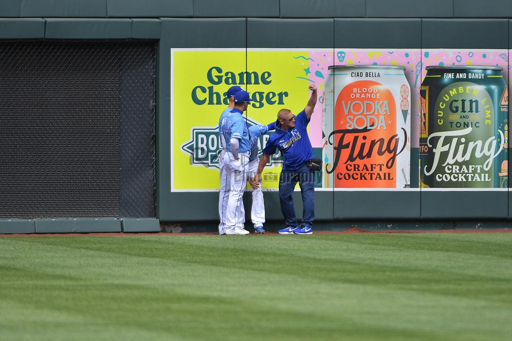 Apr 11, 2019; Kansas City, MO, USA;  at Kauffman Stadium. Mandatory Credit: Denny Medley-USA TODAY Sports