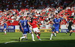 Jonathan Leko of Charlton Athletic shoots wide - Mandatory by-line: Arron Gent/JMP - 14/09/2019 - FOOTBALL - The Valley - Charlton, London, England - Charlton Athletic v Birmingham City - Sky Bet Championship