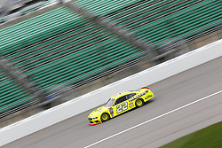 October 19, 2018 - Kansas City, Kansas, United States of America - Austin Cindric (22) takes to the track to practice for the Kansas Lottery 300 at Kansas Speedway in Kansas City, Kansas. (Credit Image: © Justin R. Noe Asp Inc/ASP via ZUMA Wire)