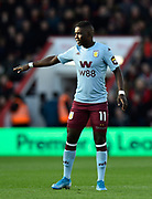 Marvelous Nakamba (11) of Aston Villa during the Premier League match between Bournemouth and Aston Villa at the Vitality Stadium, Bournemouth, England on 1 February 2020.
