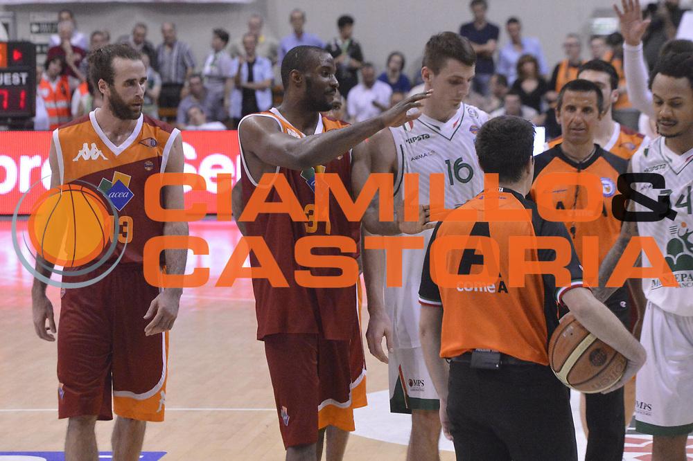 DESCRIZIONE : Roma Lega A 2012-2013 Montepaschi Siena Acea Roma playoff finale gara 4<br /> GIOCATORE : Team <br /> CATEGORIA : Delusione<br /> SQUADRA : Acea Roma Montepaschi Siena<br /> EVENTO : Campionato Lega A 2012-2013 playoff finale gara 4<br /> GARA : Montepaschi Siena Acea Roma<br /> DATA : 17/06/2013<br /> SPORT : Pallacanestro <br /> AUTORE : Agenzia Ciamillo-Castoria/GiulioCiamillo<br /> Galleria : Lega Basket A 2012-2013  <br /> Fotonotizia : Roma Lega A 2012-2013 Montepaschi Siena Acea Roma playoff finale gara 4<br /> Predefinita :