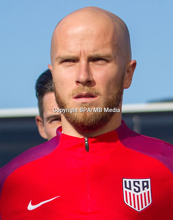 Concacaf- World Cup Fifa Russia 2018 Qualifyer - <br /> USA Soccer National Team - <br /> Michael Bradley