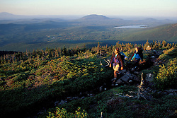 White Cap Mountain, ME. Picataquis Mountains. Northern Forest. Hiking the Appalachian Trail.