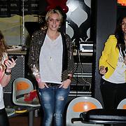 NLD/Amsterdam/20120313 - Invito Bash by Fred van Leer, Myrthe Mylius en vriendin Maria Tailor