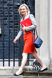 © Licensed to London News Pictures. 27/06/2017. London, UK. Chief Secretary to the Treasury LIZ TRUSS attends a cabinet meeting in Downing Street, London on Tuesday, 27 June 2017. Photo credit: Tolga Akmen/LNP