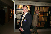ANDREW EDMUNDS, Private Preview of the Grosvenor House Art and Antiques Fair. 13 June 2007.  -DO NOT ARCHIVE-© Copyright Photograph by Dafydd Jones. 248 Clapham Rd. London SW9 0PZ. Tel 0207 820 0771. www.dafjones.com.