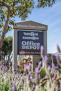 Fullerton Town Center Signage