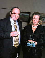 MRS TIMOTHY CLIFFORD, whose husband is director of the National Gallery in Scotland and MICHAEL ANCRAM, at an exhibition in London on December 3rd 1996.   LUE 2