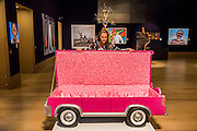 "JOSEPH ""PAA JOE"" TETTEH-ASHONG (GHANAIAN, BORN 1945)'JFK Limousine' <br /> £4,000-6,000<br />  - Bonhams previews works from its Africa Now sail - the first contemporary sale of African artists - and its Gutai and ZERO exhibition. In their offices on New Bond Street."