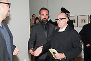 EVGENY LEBEDEV, Jake or Dinos Chapman, White Cube, Mason's Yard and afterwards at The Tab Centre, Austin Street, London E2. 14 July 2011. <br /> <br />  , -DO NOT ARCHIVE-© Copyright Photograph by Dafydd Jones. 248 Clapham Rd. London SW9 0PZ. Tel 0207 820 0771. www.dafjones.com.