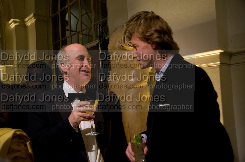 CHARLES SAUMERAZ SMITH; JAMES HOLLAND-HIBBERT, Royal Academy Schools fundraising Annual dinner and auction. Royal academy Schools. Burlington St. London.  24 March 2009
