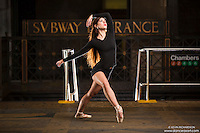 New York City Subway Dance As Art Photography Project with Dancer Lindsey Horrigan