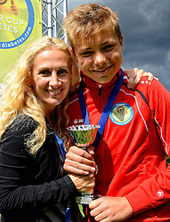 24-08-2014 NED: Medtronic Junior Cup Diabetes, Arnhem<br /> Anita Treiber, Medtronic, Hungary