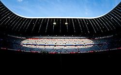 11.09.2010, Allianz Arena, München, GER, 1. FBL, FC Bayern München vs Werder Bremen, im Bild die Allianz Arena in München, Innenansicht, EXPA Pictures © 2010, PhotoCredit: EXPA/ J. Feichter