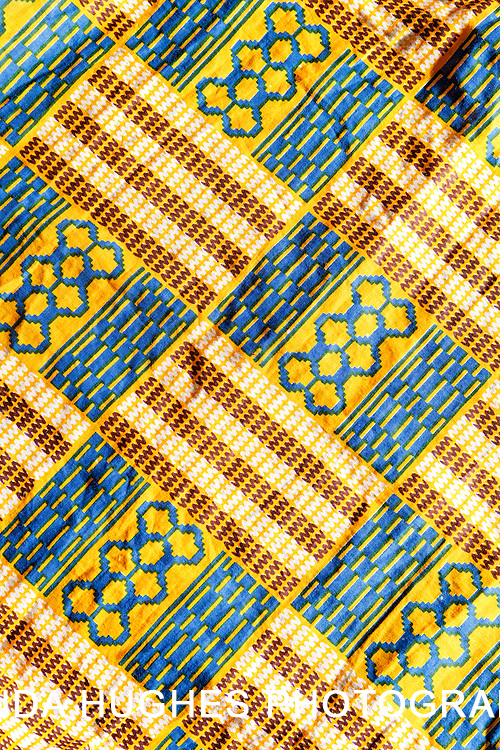 West African Kente Fabric