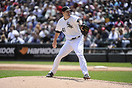CHICAGO - JUNE 12:  Phil Humber #41 of the Chicago White Sox pitches against the Oakland Athletics on June 12, 2011 at U.S. Cellular Field in Chicago, Illinois.  The White Sox defeated the Athletics 5-4.  (Photo by Ron Vesely)   Subject:  Philip Humber
