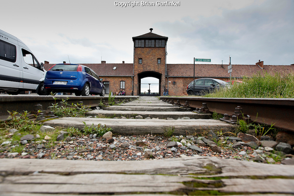 The main gates to Auschwitz-Birkenau Concentration Camp in Poland on Tuesday July 5th 2011.  (Photo by Brian Garfinkel)