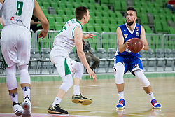Mitja Nikolic of KK Rogaska during basketball match between KK Petrol Olimpija and KK Rogaska in 1st Semifinal match of Liga Nova KBM 2017/18, on May 9, 2018, in Arena Stozice, Ljubljana, Slovenia. Photo by Urban Urbanc / Sportida