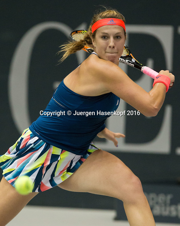 ANASTASIA PAVLYUCHENKOVA (RUS)<br /> <br /> Tennis - Ladies Linz 2016 - WTA -  TipsArena  - Linz - Oberoesterreich - Oesterreich - 10 October 2016. <br /> &copy; Juergen Hasenkopf